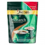 Кофе Jacobs-monarch сублимированный 190гр